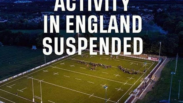 Rugby Cancelled until 14th April!
