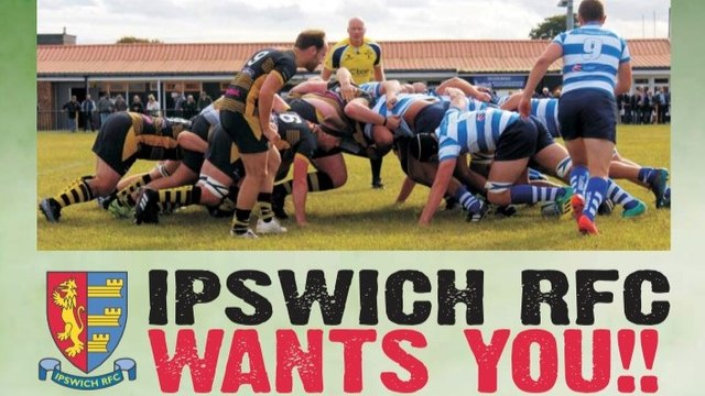 Ipswich RFC wants you!