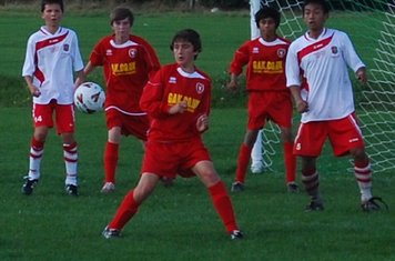 Zac in action against Hastings