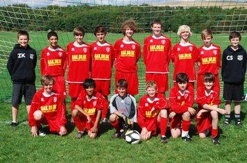 U/14 squad 11/09/10