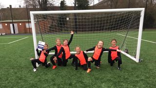 U9 Girls Debut in the League
