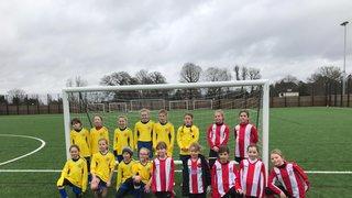 U10 Girls Debut in the League