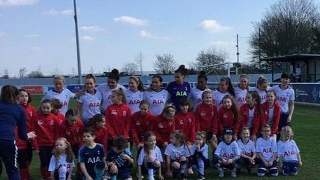 Bury Girls Spurs Ladies Mascot
