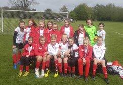 Under 12 Girls League Runners Up