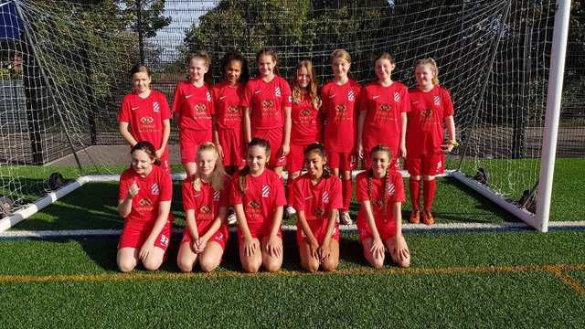 Bury Rangers U14s Girls