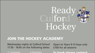 Culford School Boys Hockey Academy