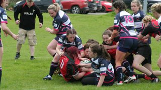 Welshpool Ladies v Llangollen Ladies by Gareth Pugh