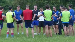 Men's training session 3rd August 2017