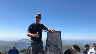 Welshpool RFC tackling Three Peaks Challenge