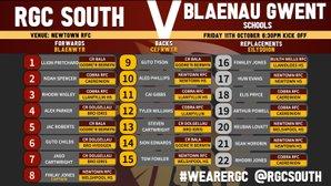 RGC South U15 v Blaenau Gwent Schools U15