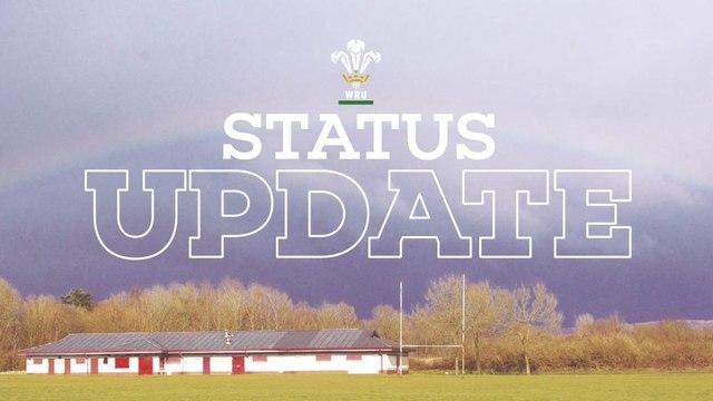 WRU Status Update 20/05/2020