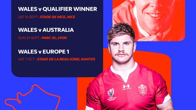 RWC 2023 - FOLLOW 'MY TEAM WALES' - STARTING AT 190€ TOTAL FOR THE FOUR WALES QUALIFYING GAMES