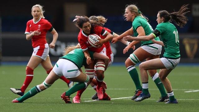 Wales Women 0 v Ireland Women 45
