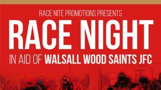 Walsall Wood Saints JFC - RACE NIGHT