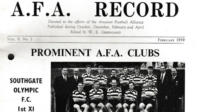 A History of the Club up to 1959