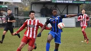 Felixstowe and Walton United Reserves v First Team 06/04/19
