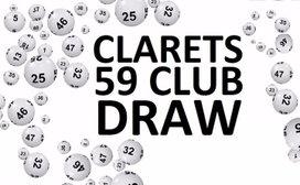 Clarets 59 Club Draw Winner - 08/06/2019