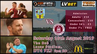 WEYMOUTH PREVIEW