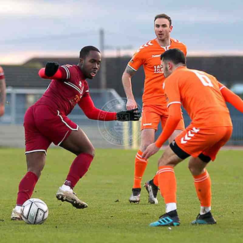 Chelmsford City 4-2 Braintree Town - National League South - 02/01/2021