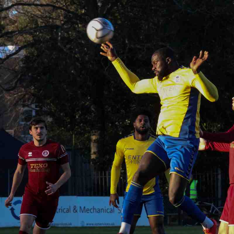 St Albans City 0-2 Chelmsford City - National League South - 09/01/2021