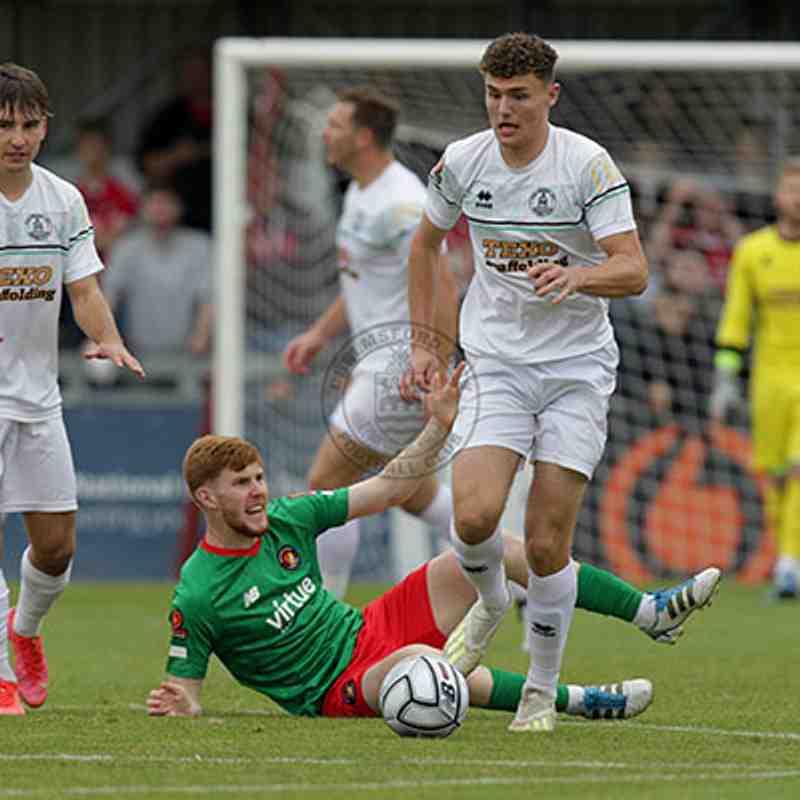 Chelmsford City 0-0 Ebbsfleet United  - Vanarama National League South - 30/08/2021