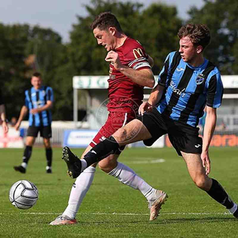 Chelmsford City 2-1 Little Oakley - Emirates FA Cup - 18/09/2021