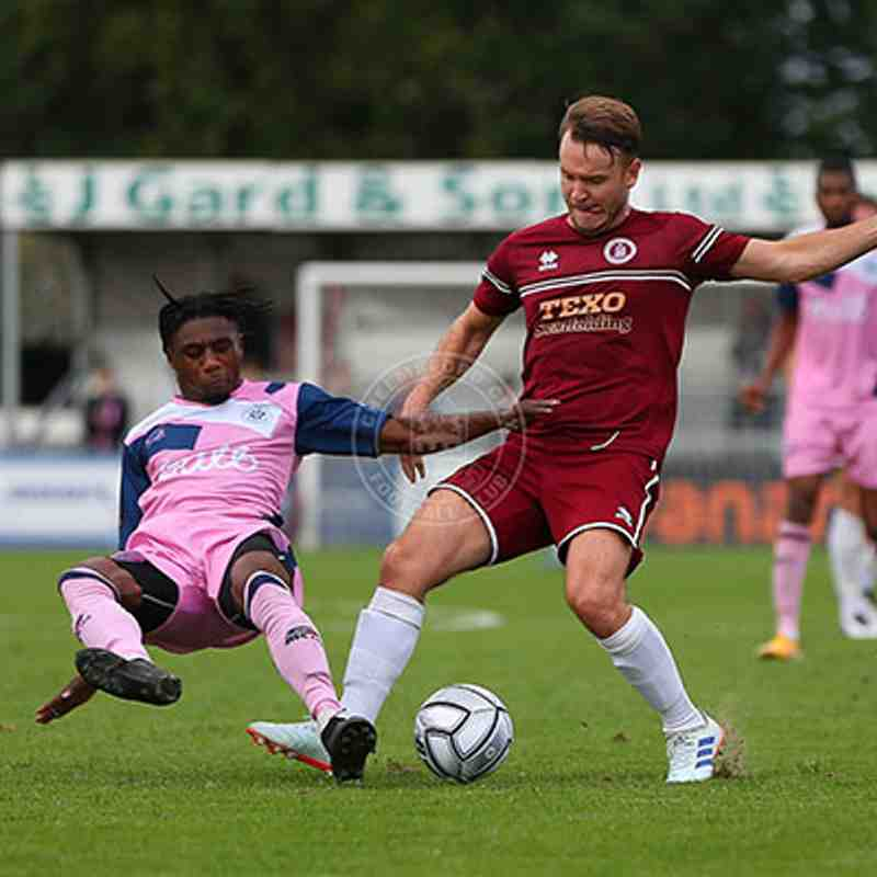 Chelmsford City 0-2 Dulwich Hamlet - Vanarama National League South - 25/09/2021