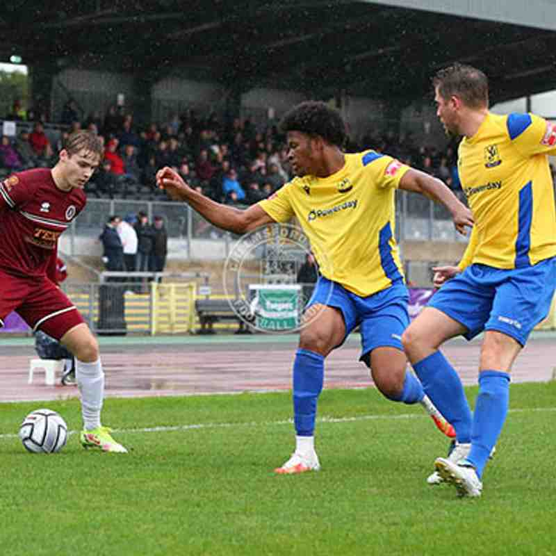 Chelmsford City 1-0 Enfield Town - Emirates FA Cup - 02/10/2021