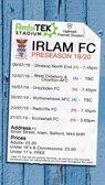 IRLAM FC V RADCLIFFE FC  TUES 23/7