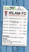 IRLAM FC V RADCLIFFE FC  TUES 23/7