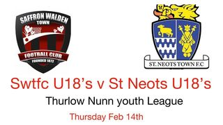 Under 18s at the Lane - 14th Feb
