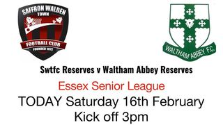 SWTFC Reserves in action - 16th Feb