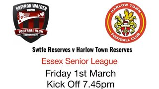 Friday night football - 1st March