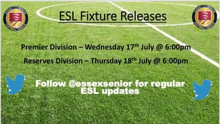 Fixtures released this week