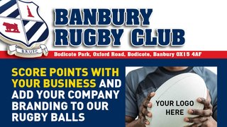 Rugby Ball Sponsorship!