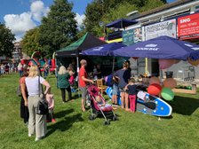 Glorious Weather, Great Success at Registration Fun Day