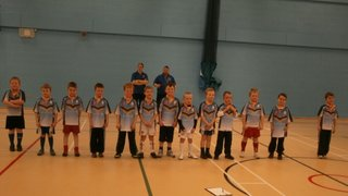 OSJ Under 7's 2012 Squad Numbers and new kit presentation