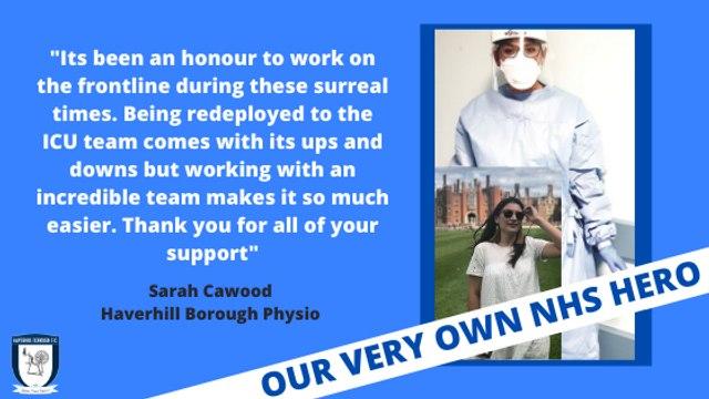 OUR VERY OWN NHS HERO
