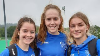 Nicola, Holly & Milly representing Leinster u18s
