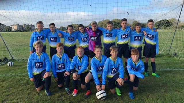 Under 14 Sunday Team