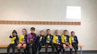 Under 8 Eagles Sunday Team