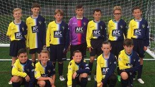 U12 Kestrels march into Hampshire Cup Semi Finals