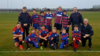 Lychett Minster RFC U12 V Melksham RFC U12 Cup Game
