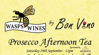 Wasps Ladies Prosecco Afternoon Tea