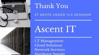 St Neots RUFC would like to thanks Ascent IT for their sponsorship of the U14's team