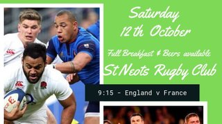 Rugby World Cup - Breakfast & Beers