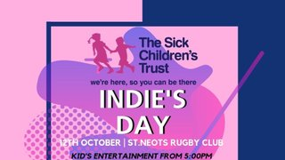 Indie's Day - hosted by St Neots RUFC - Supporting The Sick Childrens Trust
