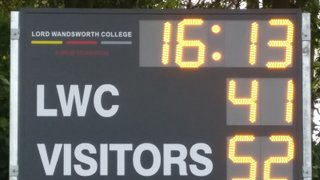 Alton Colts v Lord Wandsworth College 1st XV