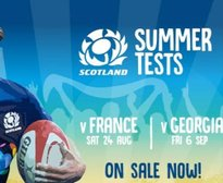 Tickets for Scotland Summer Tests