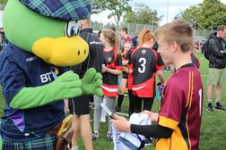Tartan Touch with the Scotland Squad
